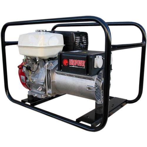 Генератор бензиновый Europower EP 6500 T 3X230V для ж/д в Обье