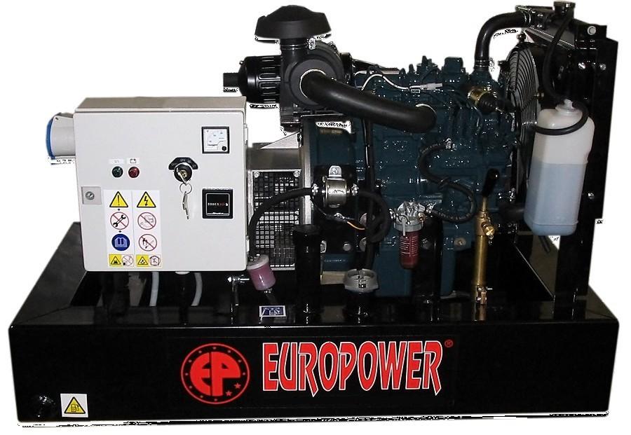 Генератор дизельный Europower EP 30 DE в Обье