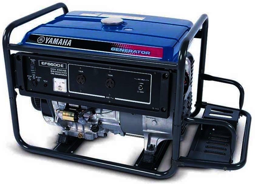 Генератор Yamaha  EF6600E в Обье