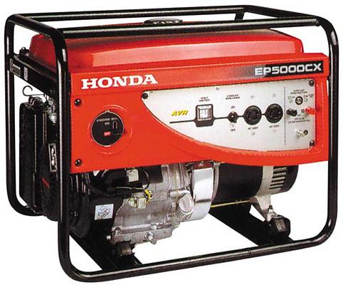Генератор Honda EP5000 CX RG в Обье