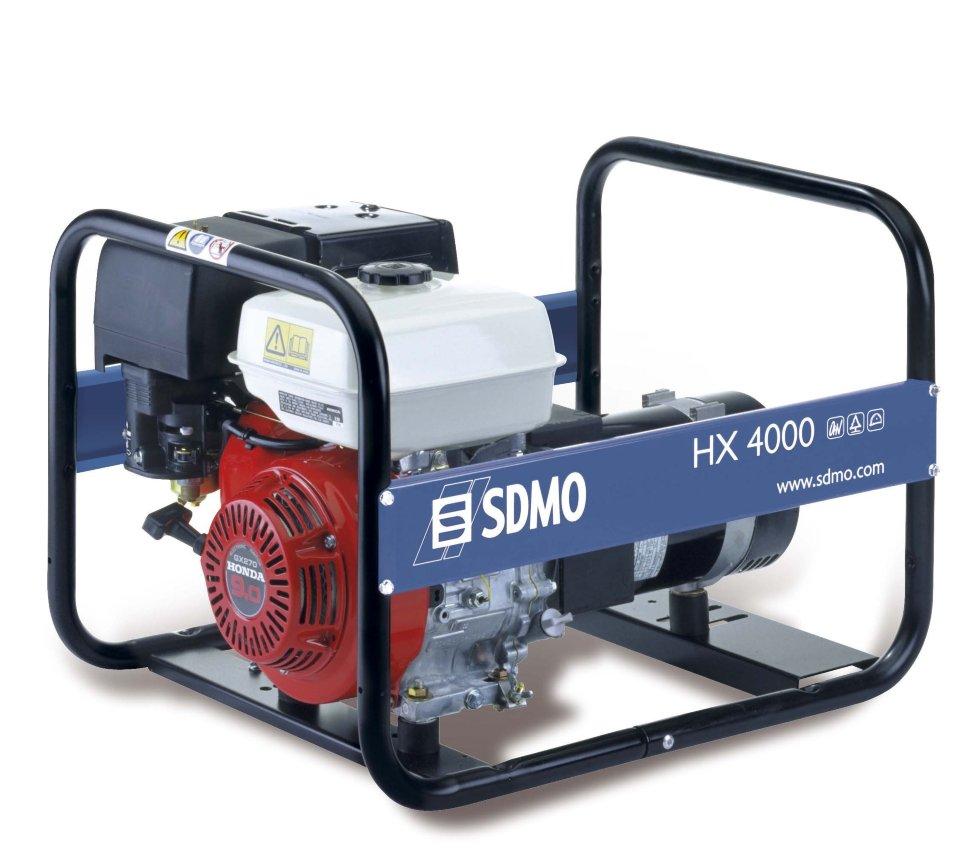 Генератор SDMO HX 4000-S в Обье