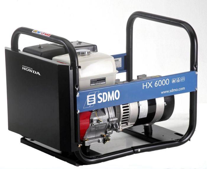 Генератор SDMO HX 6000-S в Обье
